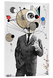 Cuadro de metacrilato  the thinking man - Loui Jover