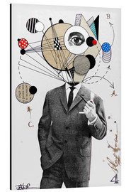 Cuadro de aluminio  the thinking man - Loui Jover
