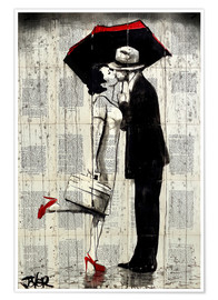 Póster  ever after - Loui Jover