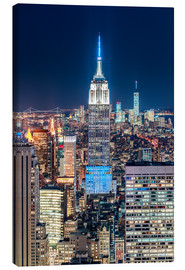 Lienzo  Empire State Building from Top Of The Rock - Sascha Kilmer