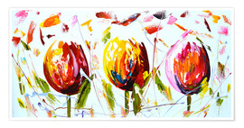 Póster Tulips 2