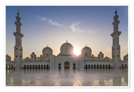 Póster Sheikh Zayed Mosque