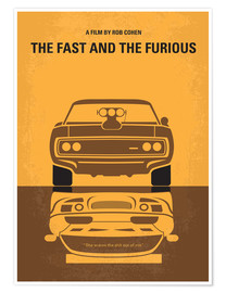 Póster The Fast And The Furious