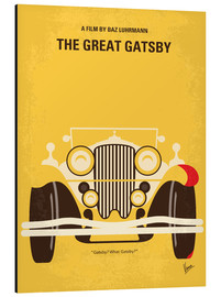 Cuadro de aluminio  The Great Gatsby - chungkong