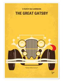 Póster  The Great Gatsby - chungkong