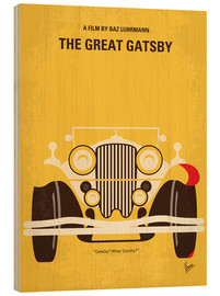 Cuadro de madera  The Great Gatsby - chungkong