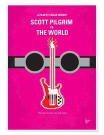 Póster Scott Pilgrim Vs. The World