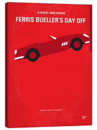 Lienzo  No292 My Ferris Bueller's day off minimal movie poster - chungkong