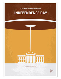 Póster  Independence Day - chungkong