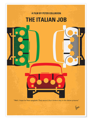 Póster The Italian Job