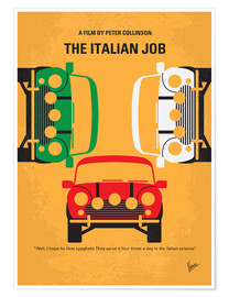 Póster  The Italian Job - chungkong