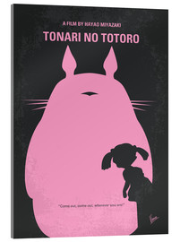Cuadro de metacrilato  No290 My My Neighbor Totoro minimal movie poster - chungkong