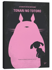 Lienzo  No290 My My Neighbor Totoro minimal movie poster - chungkong