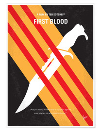 Póster Rambo - First Blood