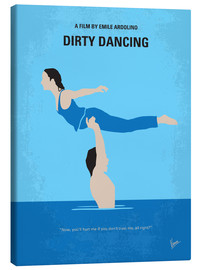 Lienzo  No298 My Dirty Dancing minimal movie poster - chungkong