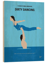 Madera  No298 My Dirty Dancing minimal movie poster - chungkong