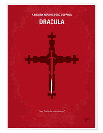 Póster  No263 My DRACULA minimal movie poster - chungkong
