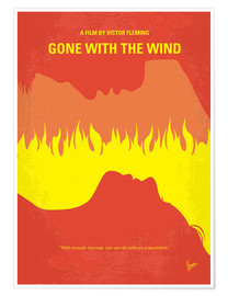 Póster Gone With The Wind
