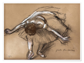 Póster Study for a Dancer