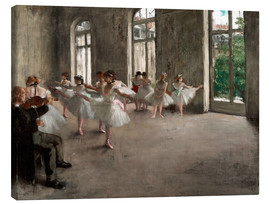 Edgar Degas - The Rehearsal