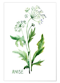 Póster  Anise