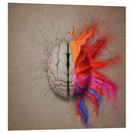 Cuadro de PVC  The creative mind - Johan Swanepoel