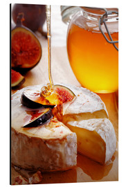 Cuadro de aluminio  Brie Cheese and Figs with honey - Johan Swanepoel