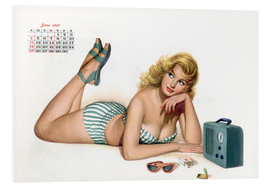 Esquire Girl calendar (march 1950)