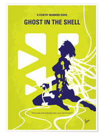 Póster  No366 My Ghost in the Shell minimal movie poster - chungkong