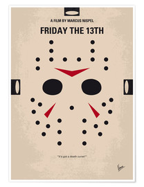 Póster Friday The 13th