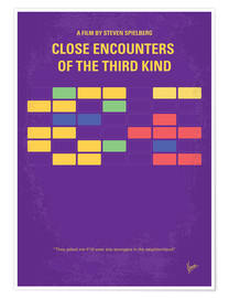 Póster Close Encounters Of The Third Kind