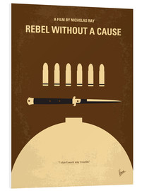 Cuadro de PVC  No318 My Rebel without a cause minimal movie poster - chungkong