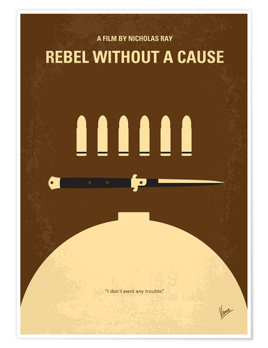 Póster Rebel Without A Cause