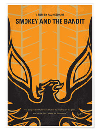 Póster  Smokey And The Bandits - chungkong
