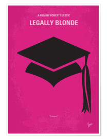 Póster Legally Blonde