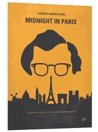 Forex  No312 My Midnight in Paris minimal movie poster - chungkong