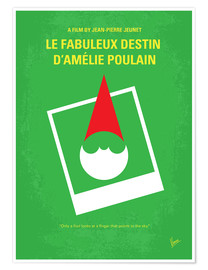 Póster No311 My Amelie minimal movie poster