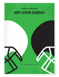 Póster Any Given Sunday