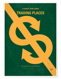 Póster Trading Places