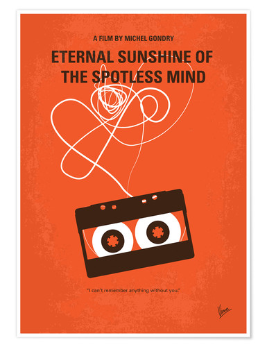 Póster Eternal Sunshine of the Spotless Mind