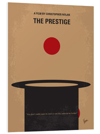 chungkong - No381 My The Prestige minimal movie poster