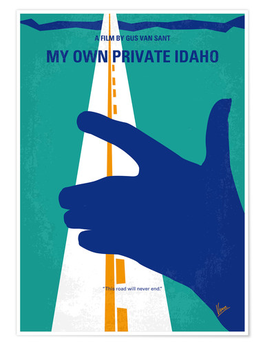 Póster My Own Private Idaho