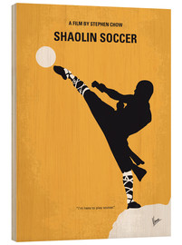 Madera  No480 My Shaolin Soccer minimal movie poster - chungkong