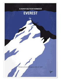 Póster  No492 My Everest minimal movie poster - chungkong