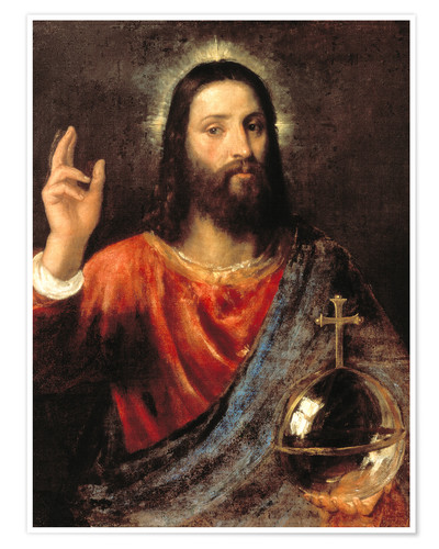 Póster Christ Salvator