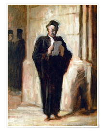 Póster Reading lawyer.