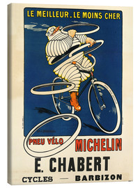 Lienzo  Bicycle tires Michelin - H.L. Roowy