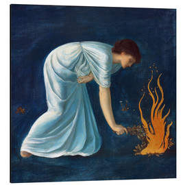 Cuadro de aluminio  Hero - Edward Burne-Jones
