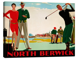 Lienzo  North Berwick Golf Club - Andrew Johnson