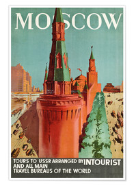 Póster Moscow
